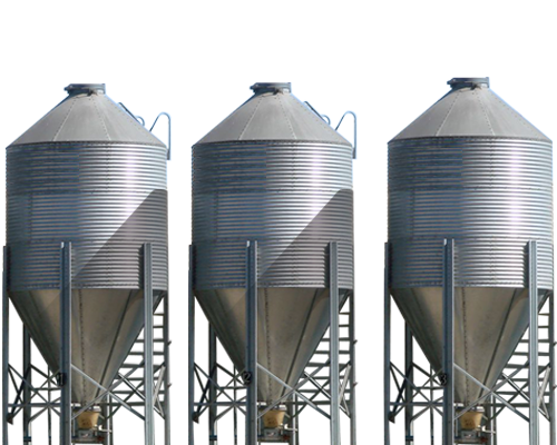 Stainless Steel Silos By The Top Manufacturing Company In